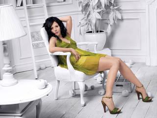 Fondo de pantalla Widescreen delgado y elegante Marie-Louise Parker